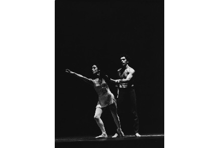 "Ana Maria de Gorriz and Salvatore Aiello received critical acclaim for their portrayals of Rita Joe and Jaime Paul respectively in choreographer Norbert Vesak's interpretation of the George Ryga play ""The Ecstasy of Rita Joe"" created for the Royal Winnipeg Ballet in 1971. Photo courtesy of the Royal Winnipeg Ballet Archives"