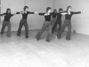 Pupils of the Phyllis Angel School of Dancing in rehearsal, c. 1970 / Photo courtesy of the Phyllis Angel Collection, Archives and Special Collections, Memorial Libraries
