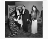 Royal Winnipeg Ballet co-founder Gweneth Lloyd receiving Their Excellencies the Governor General Lord Alexander of Tunis and Lady Alexander at the opening night of the first Canadian Ballet Festival, Odeon (Walker) Theatre, April 30, 1948.